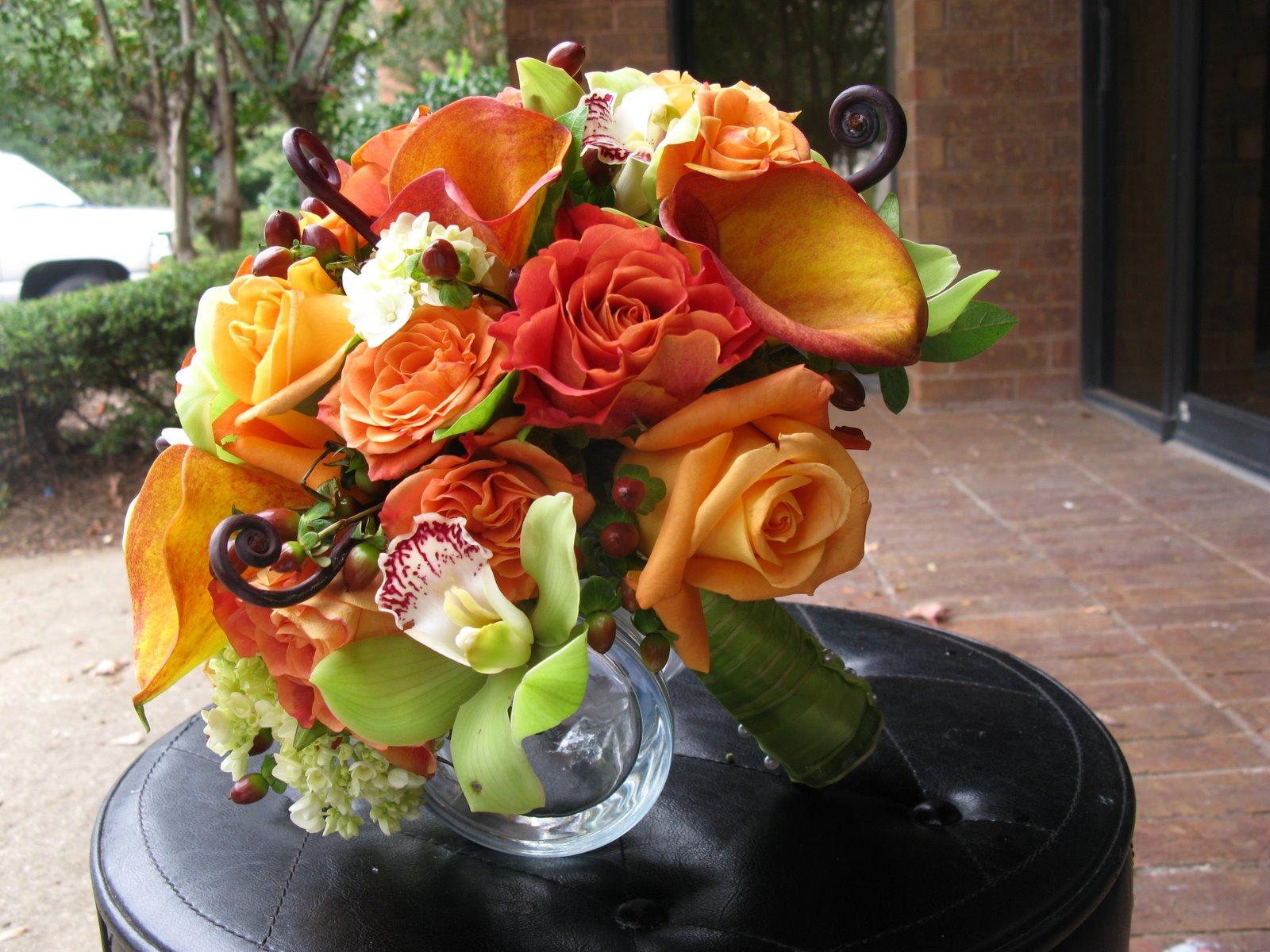 Autumn Wedding Bouquet Ideas
