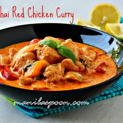 Easy Thai Red Chicken Curry