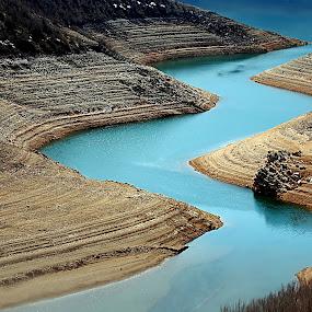 Croatia III by Ivana Miletic - Landscapes Travel ( water, tributary rivers, croatia, pwcpaths-dq, river )