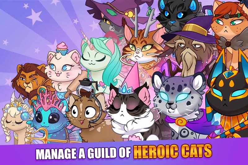 Castle Cats:  Idle Hero RPG Screenshot 16