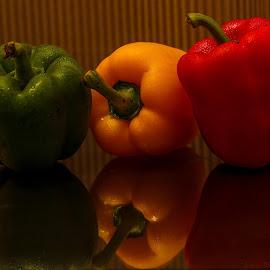 RYG capsicum by Siti Hana Iryani - Food & Drink Fruits & Vegetables