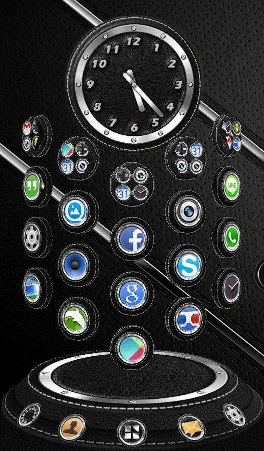 Next Launcher 3D Theme Bespoke Screenshot 5
