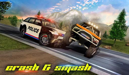 Police Car Smash 2017 screenshot 12