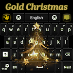 Gold Christmas Keyboard 1.76 Apk