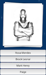 Guess Wrestlers Quiz - screenshot