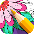 App Color Therapy Pages - Flowers APK for Kindle