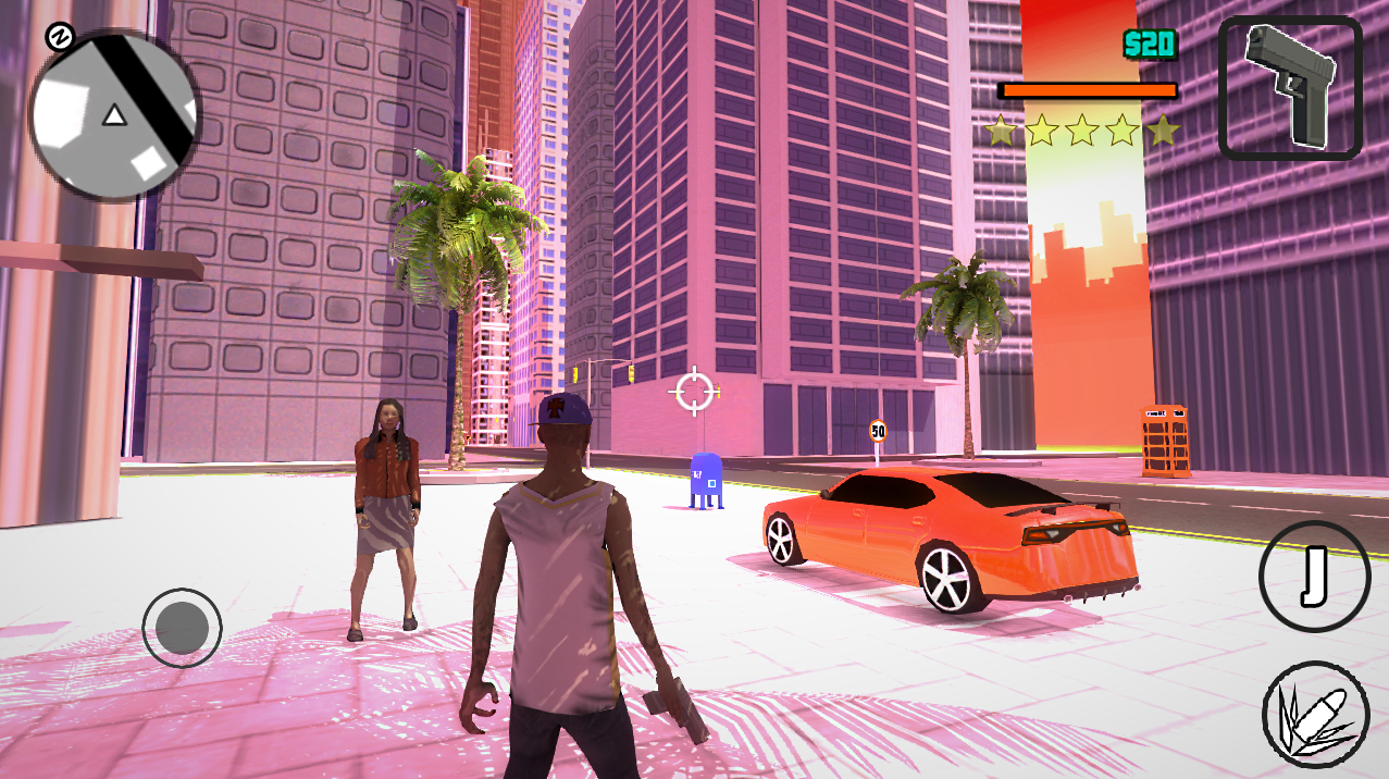 Vegas Gangsters: Crime City Screenshot 0