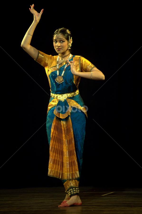 by Bharathkumar Hegde - People Musicians & Entertainers ( india, women, dance, classic, karnataka )