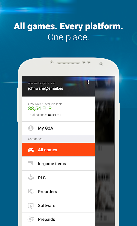 G2A - Game Stores Marketplace Screenshot 2
