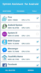 System Assistant for Android - screenshot