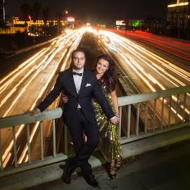 Fast Heart Beats by Yansen Setiawan - Wedding Bride & Groom ( lovers, wedding, couple, long exposure, engagement )