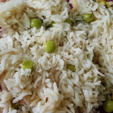 Simple and Quick Peas Pulao