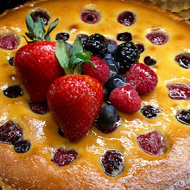 Berries Pie by Lope Piamonte Jr - Food & Drink Cooking & Baking