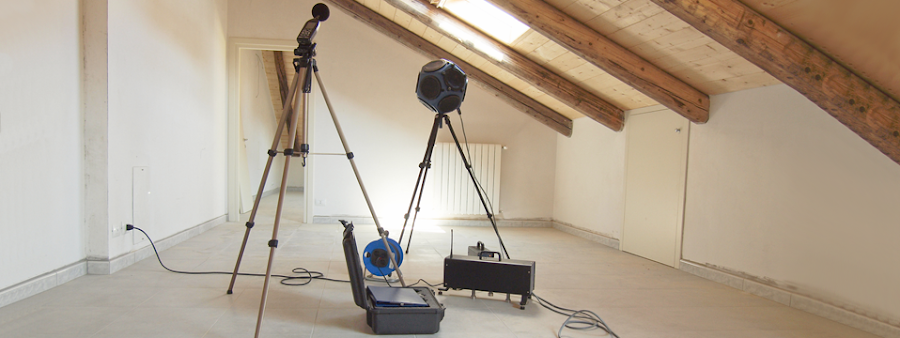 sound installation testing equipment