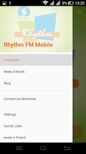 Rhythm FM Mobile - screenshot