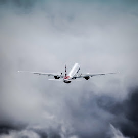 777 Departure by DB Channer - Transportation Airplanes