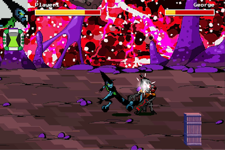 Game Ben Pixel 10 - Raging Fist apk for kindle fire