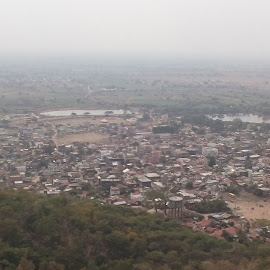 view of city by Suraj Thakre - Novices Only Landscapes ( hills, mountain, india, view, landscape, city )