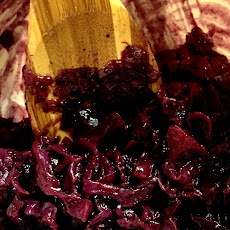 Tipsy Red Cabbage with Anchovy