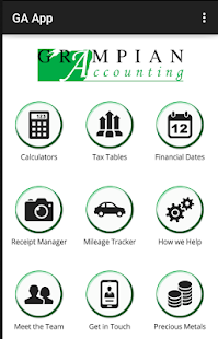 Grampian Accounting - screenshot