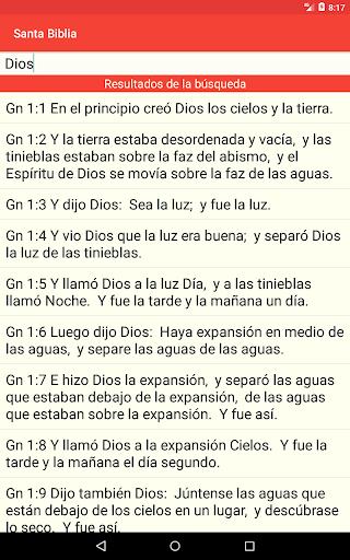 Santa Biblia Gratis screenshot 20