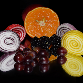 candys with fruits by LADOCKi Elvira - Food & Drink Candy & Dessert ( candys )