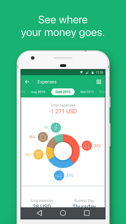 Spendee - budget and expense tracking & bank sync Screenshot 0