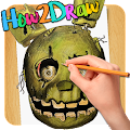 How2Draw Five Nights at Freddy APK for Bluestacks