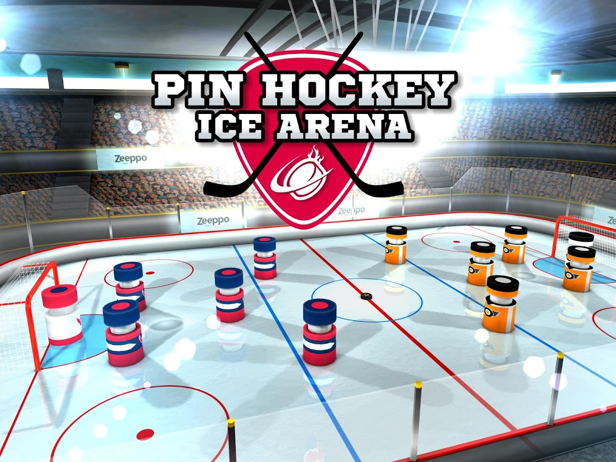 Pin Hockey - Ice Arena Screenshot 14