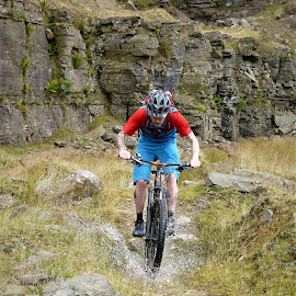 Me by Andy Bampton - Sports & Fitness Cycling ( fitness, offroad, cycling, mtb, lee quarry, watersplash )