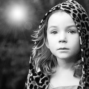 Sunshine by Sandy Considine - Babies & Children Child Portraits ( black and white, b&w, child, portrait )
