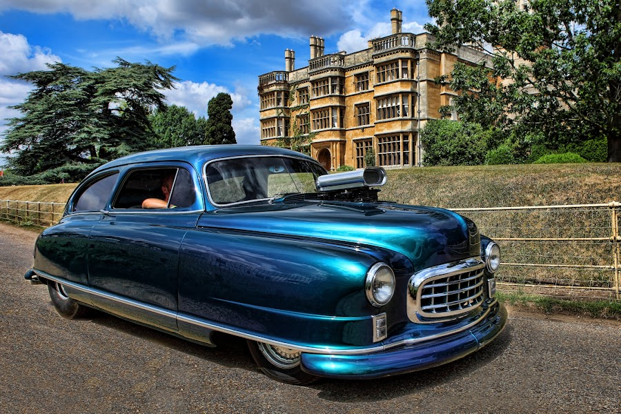 Smooth by Peter Parker - Transportation Automobiles ( car, home, sky, blue, age, stately, space, 50 )