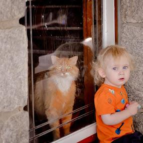 Jacob and Aslan. Buddies for life. by Annamarie Dearr - Babies & Children Children Candids
