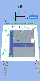 Roller Paint Splat