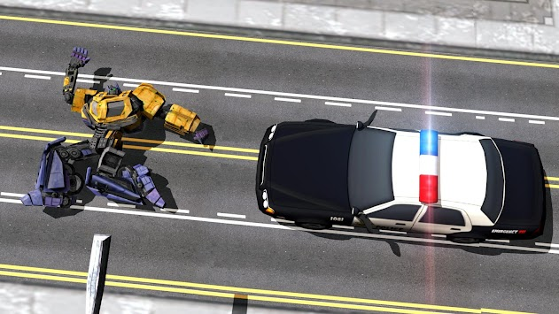 Robots War In City APK screenshot thumbnail 4