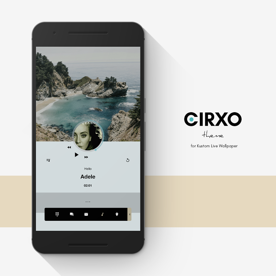 Cirxo Theme for KLWP Screenshot 4