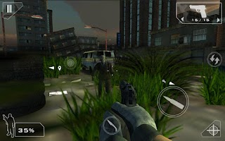 Screenshot of Green Force: Zombies - HD