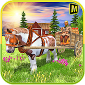 Horse Carriage Fruit Seller APK for Bluestacks