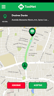 TaxiNet para taxistas - screenshot