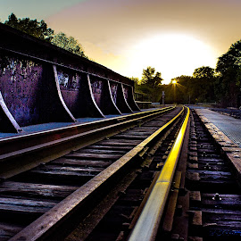 by Marc Kirby - Transportation Railway Tracks