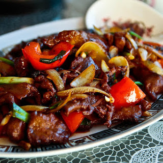 Beef With Black Bean Sauce Chinese Recipes