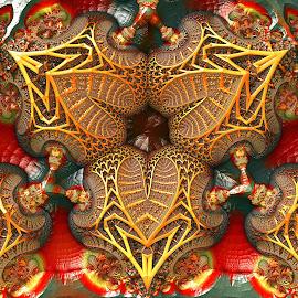 MB3D - 578 by Siniša Dalenjak - Illustration Abstract & Patterns ( mandelbulb 3d, fractal 3d )