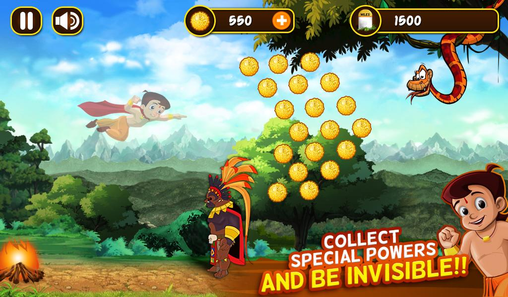 Chhota Bheem Jungle Run Screenshot 9