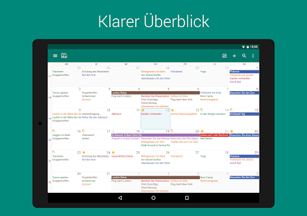 DigiCal Kalender Screenshot
