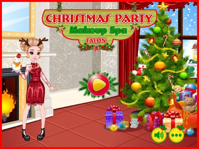 android Christmas Party - Makeup Salon Screenshot 0