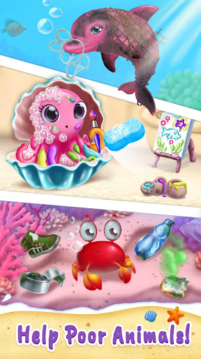 Sweet Baby Girl Mermaid Life - Magical Ocean World For PC