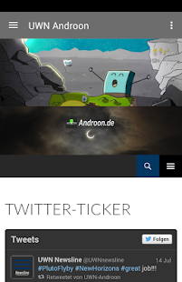 Projekt Androon - screenshot