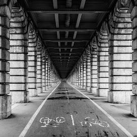 Under the Bridge by Patrice Vallet - Buildings & Architecture Other Exteriors ( paris, d810, france, nikon,  )