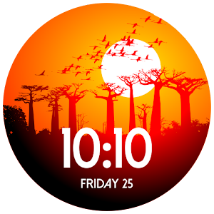 African Sunsets Watch Face