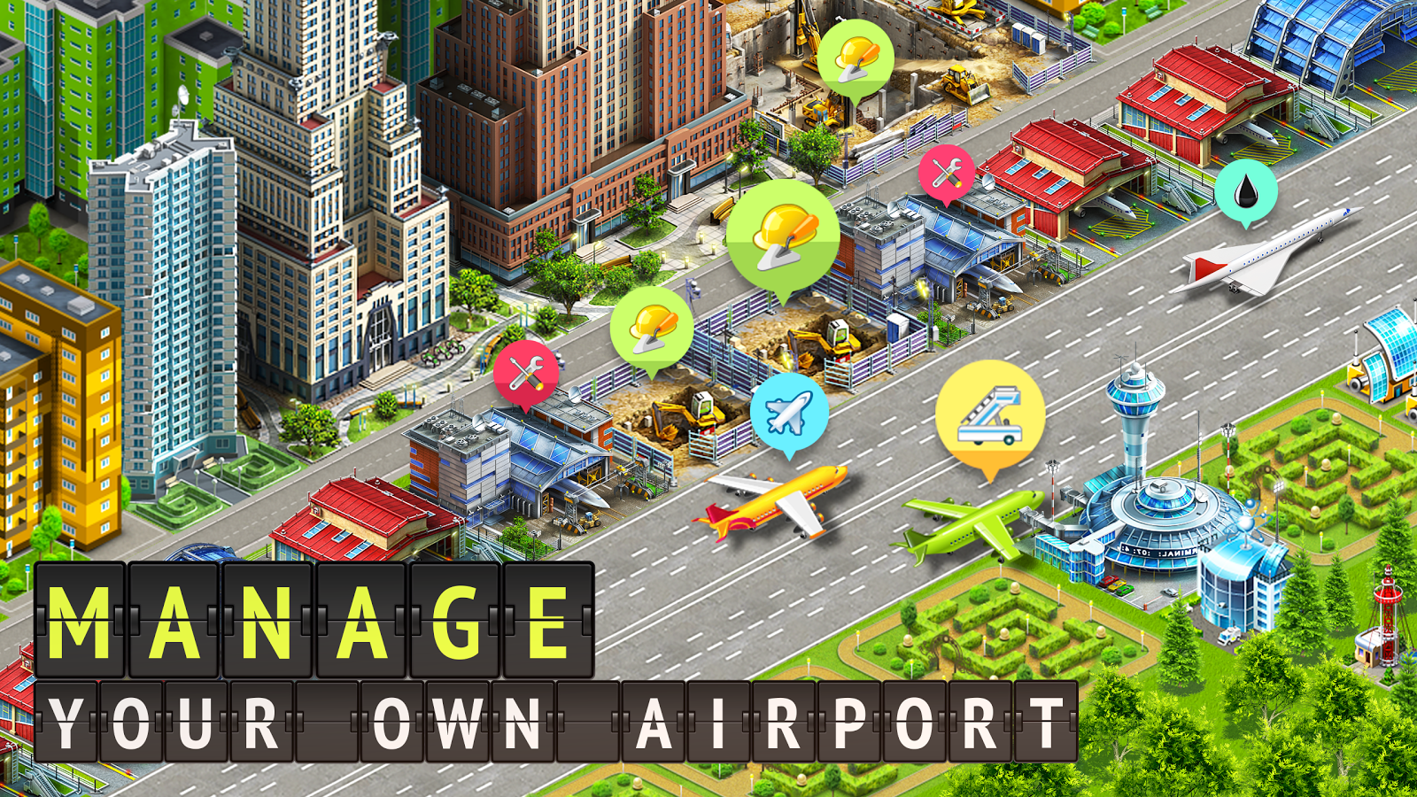 Airport City: Airline Tycoon Screenshot 6